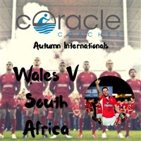 Autumn International Wales V South Africa
